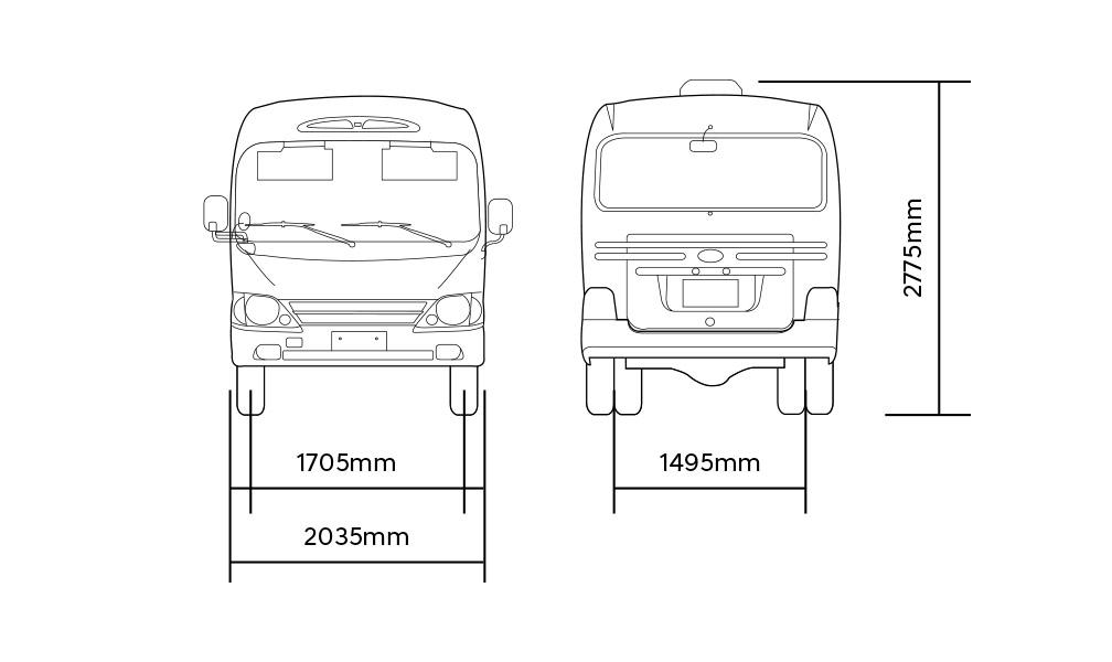 county bus dimension 4