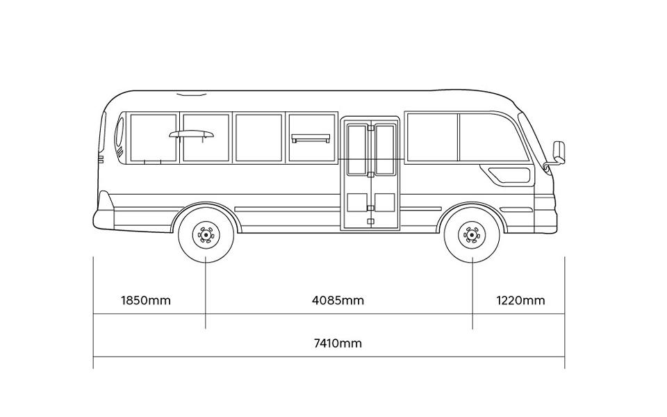 county bus dimension 3